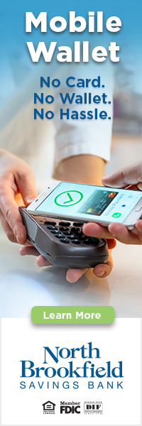 Mobile Wallet No Card No Wallet No Hassle  Learn More  North Brookfields Savings Bank Member FDIC