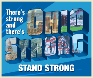 There's strong and there's Ohio Strong. Stand Strong.