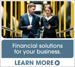 Financial solutions for your business. Learn more.