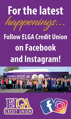 For the latest happenings, follow ELGA Credit Union on Facebook and Instagram!