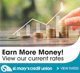 Earn more money! view our current rate st marys credit union view rates