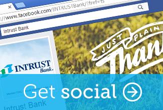 Get social.  Like us on Facebook.