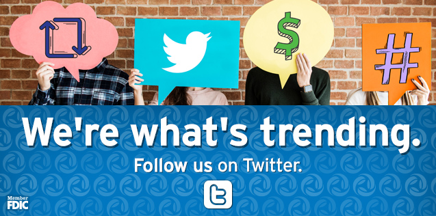 We're what's trending.  Stay updated and informed. Follow us on Twitter.