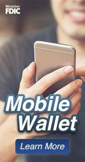 Ad: Mobile Wallet Learn More Member FDIC