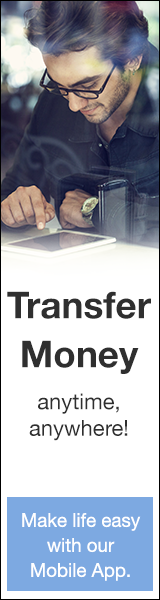 Transfer Money anytime, anywhere!  Make life easy with our Mobile App.
