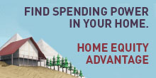 Find spending power in your home. Click here to learn more about Northrim's Home Equity Advantage.