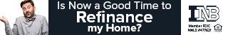 Is now a good time to refinance my home? INB. Member FDIC. Equal housing lender. NMLS #477621.