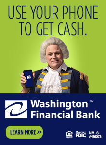 Use your phone to get cash.