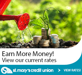 earn more money view our current rates st. mary's credit union view rates